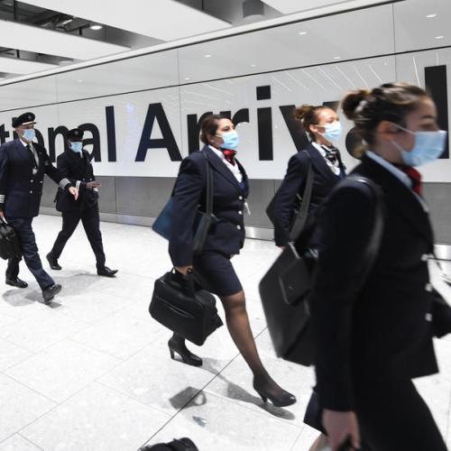 UK bans arrivals from South America over Brazil virus variant