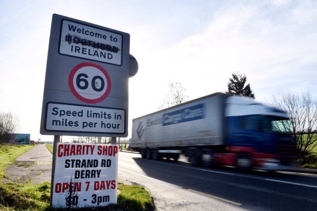 Northern Ireland-Britain supply chain at risk of collapse, hauliers warn