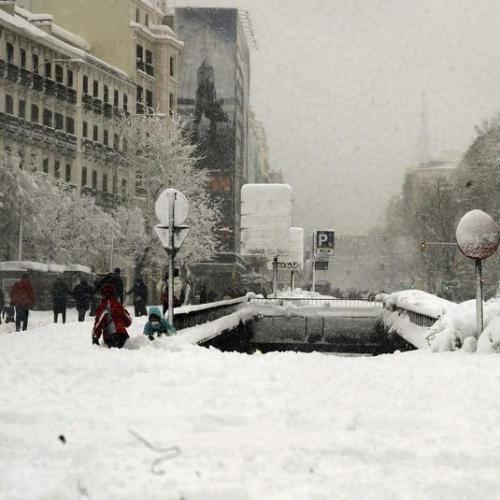 Snowstorm in Spain leaves four persons dead