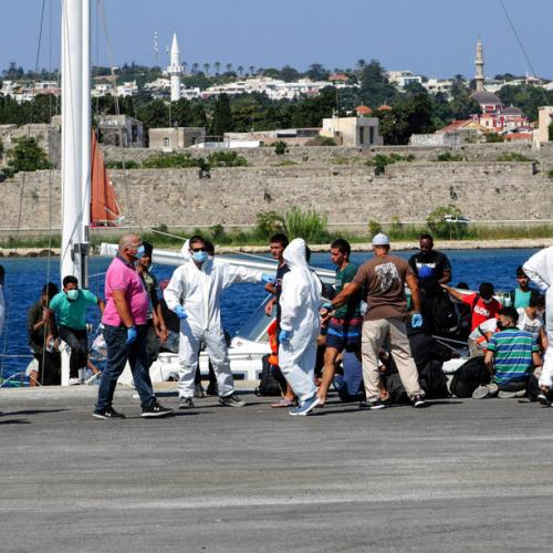Greek coastguard recovers one dead, rescues 27 on Lesbos island