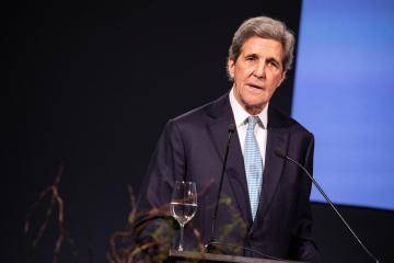 U.S. climate envoy Kerry visits Japan, China for talks on emissions