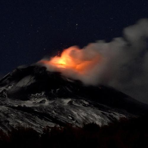 Volcanic activity on Etna subsiding