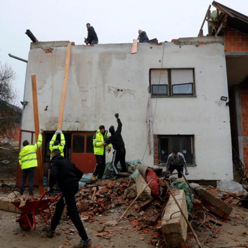 Photo Story: Croatian earthquake aftermath