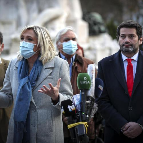 Reporters walk out on Portuguese, French far-right leaders over COVID-19 fears