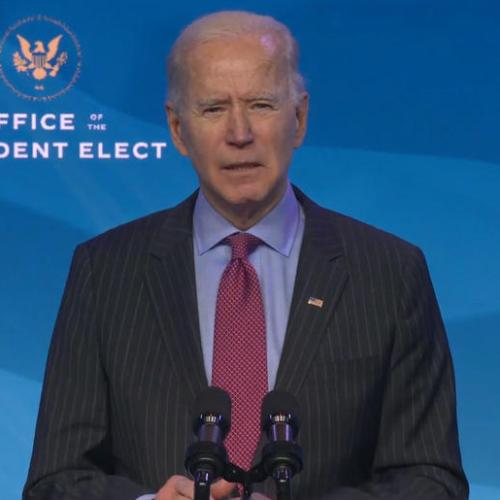 U.S. governors work to speed up vaccinations, Biden pledges faster distribution