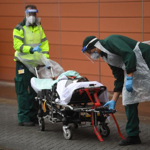 Temporary morgues set up as UK hospitals run out of space