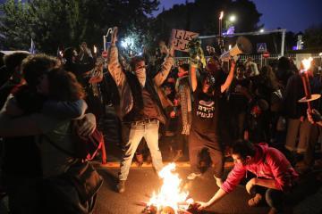 Photo Story: Anti-Netanyahu protest in Jerusalem