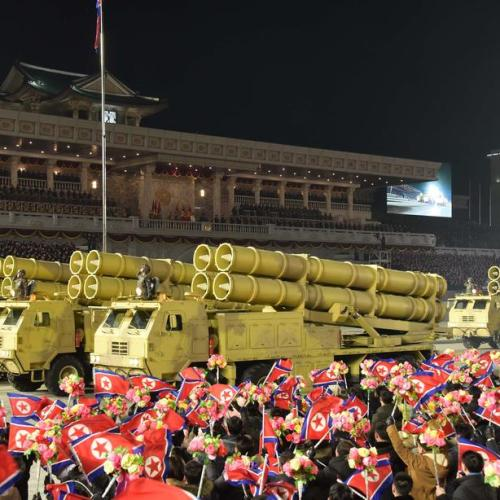North Korea shows off new submarine missiles after rare party congress