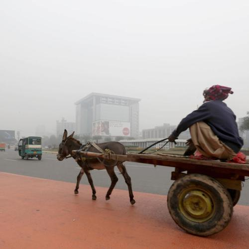 Photo Stories: Fog in Lahore
