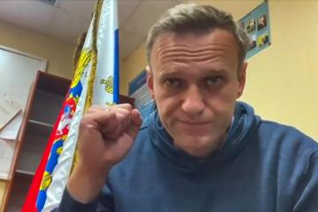 Kremlin says Russia can not be forced to respect Navalny's EU rights prize win