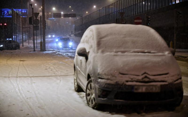 Photo Story: Heavy snowfall in Warsaw
