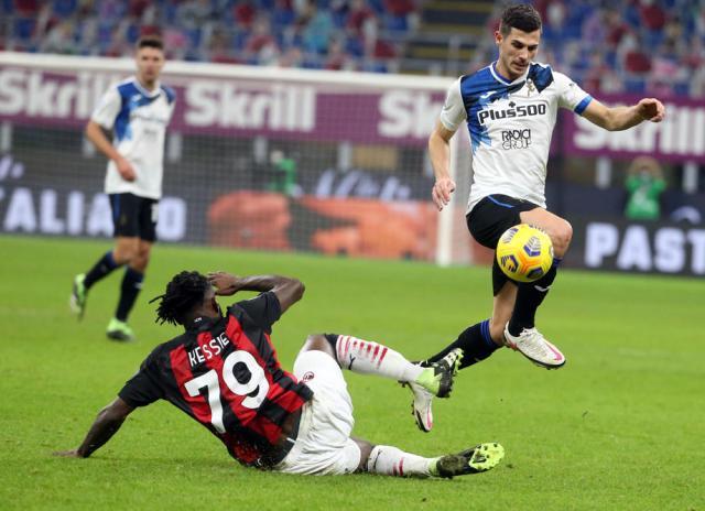 Atalanta stun winter Serie A champions AC Milan