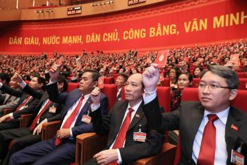 Photo Story: The 13th National Congress of Vietnam's Communist Party in Hanoi