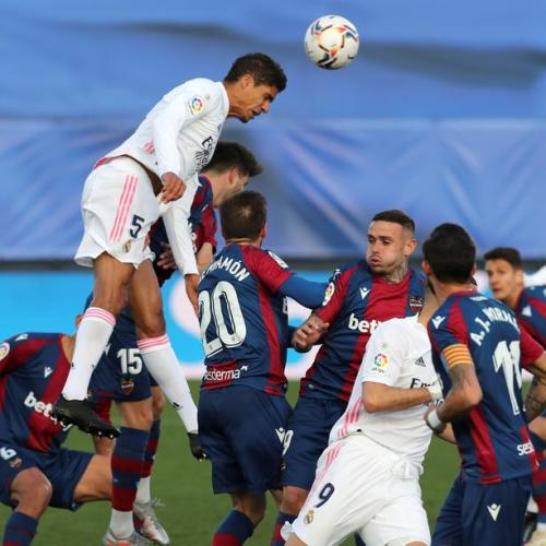 Real Madrid still in title race despite shock Levante defeat, says coach