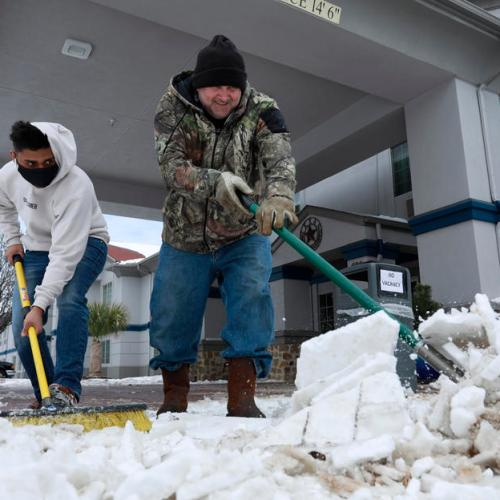 Brutal cold in Texas kills 21 people, leaves millions without power