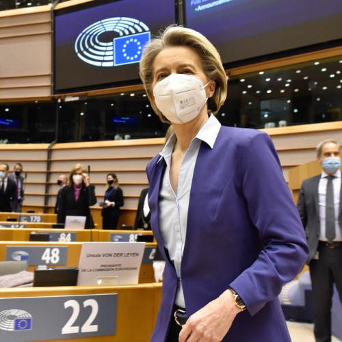 UPDATED – EU not where it wants to be in vaccine fight – EU's von der Leyen