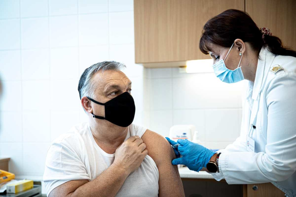 Hungary's PM Orban receives Chinese vaccine as govt ramps up rollout