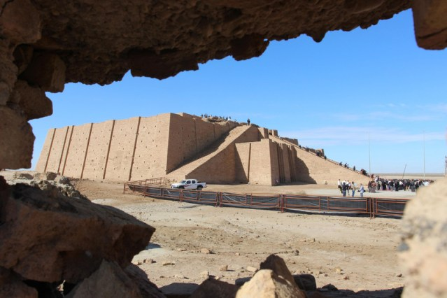 Pope's visit to Iraqi Ziggurat to bring together several faiths