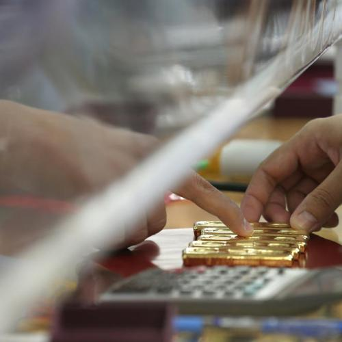 Gold slips as strong U.S. Treasury yields dull appeal