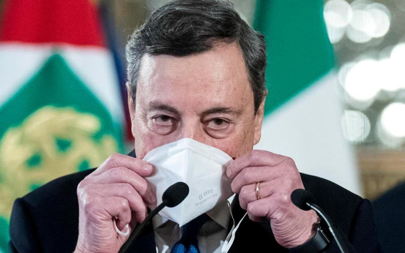Will 'Cinque Stelle' stall Draghi's government ?