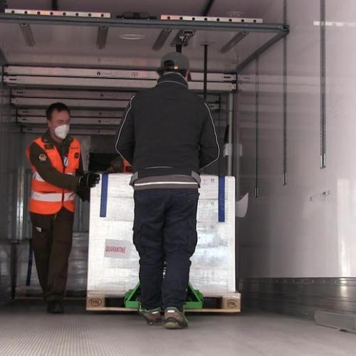AstraZeneca vaccine delivery to European countries kicks off