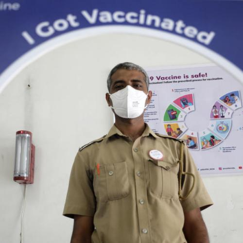 India, pharmacy of the world, falls behind on vaccinations at home