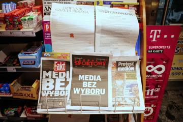 Change of editors at Polish media group spark criticism