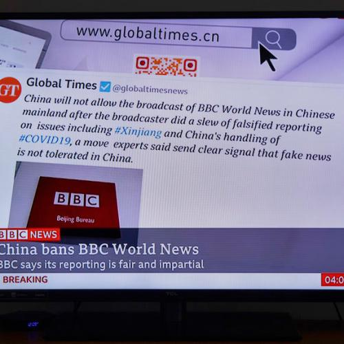 EU calls on China to reverse ban on BBC World News channel