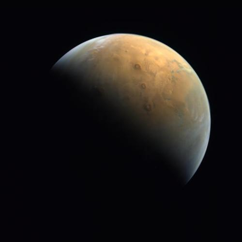 First view of Mars released after UAE's Hope probe entered orbit in the first Arab Mars mission