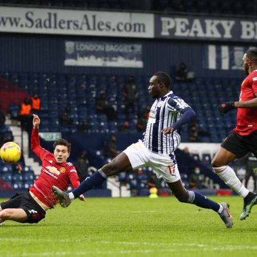 Manchester United held in 1-1 draw against West Bromwich Albion
