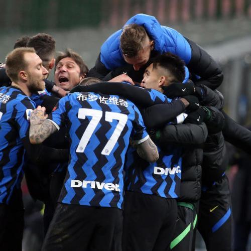 Inter beat Lazio to go top