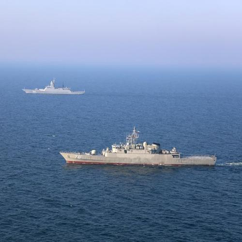 Photo Story: Iran and Russia hold military exercise