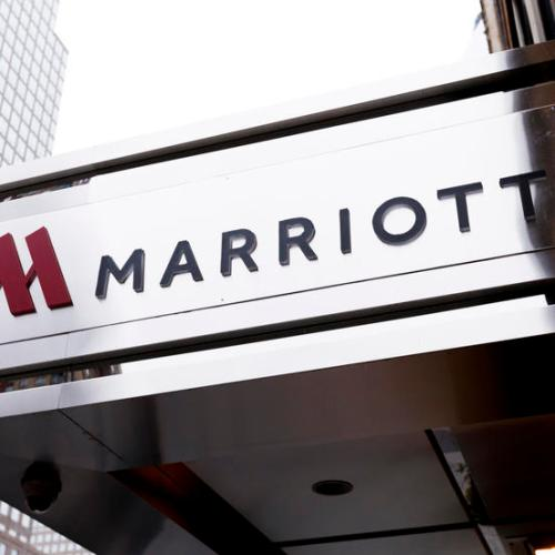Marriott says group bookings pace is down 57% in 2021 after full-year loss