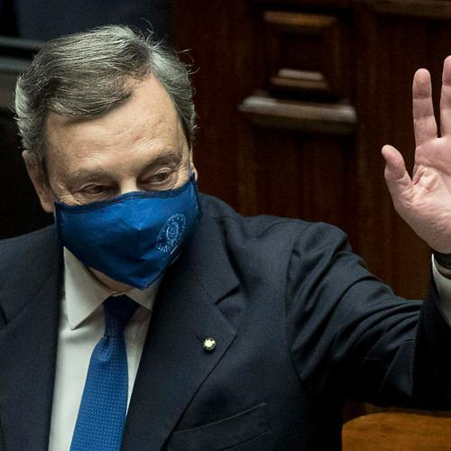 Italy's Draghi easily wins lower house confidence vote