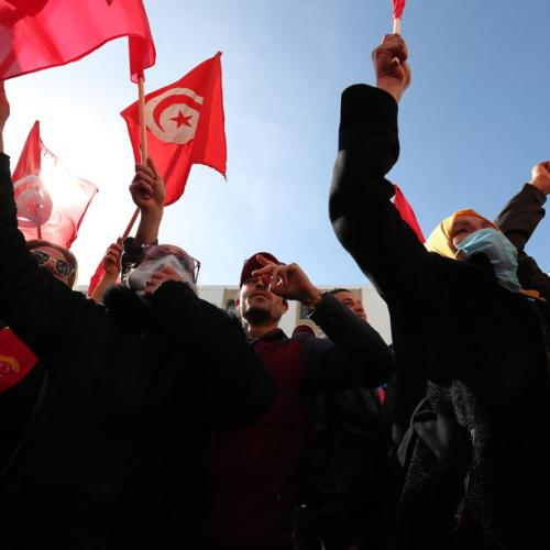 Tunisian power struggle risks street escalation
