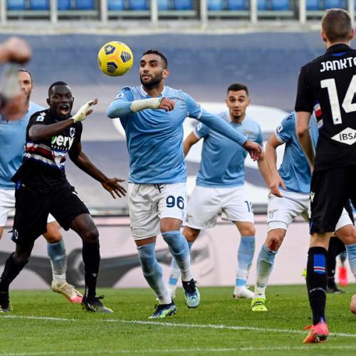 Lazio goes fourth after beating Sampdoria