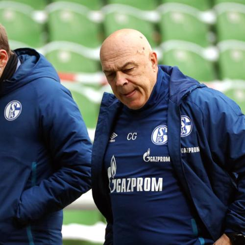 Coach Gross, others dismissed as Schalke prepare for uncertain future