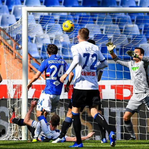Atalanta in fourth as classy shots seal 2-0 win at Sampdoria
