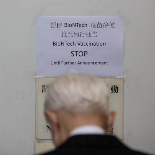 Hong Kong halts some Pfizer/BioNTech COVID-19 vaccines