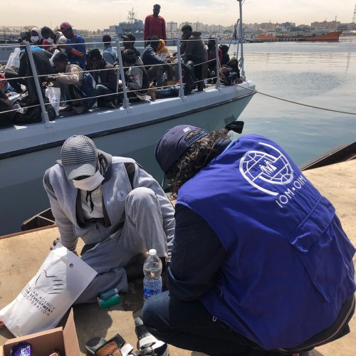 1,000 migrants returned back to Libya