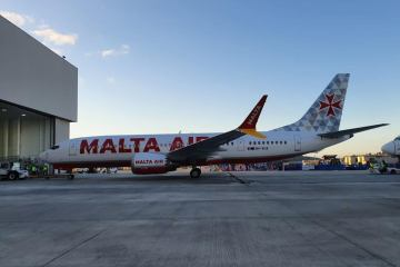 Video – Malta Air Boeing 737 Max livery spotted in U.S.