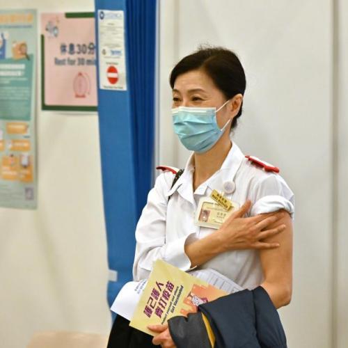 Hong Kong expands vaccine programme to teachers, taxi drivers