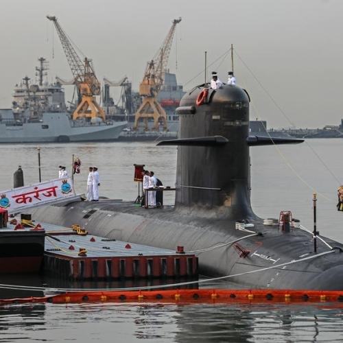 Photo Story: Commissioning ceremony of new submarine in Mumbai