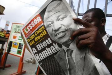 Ivory Coast's PM dies in Germany