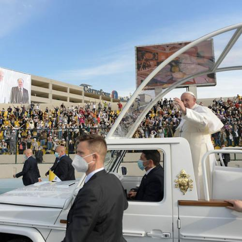 UPDATED: Pope ends historic visit to Iraq