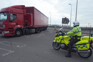 Climate change protesters block UK's Port of Dover