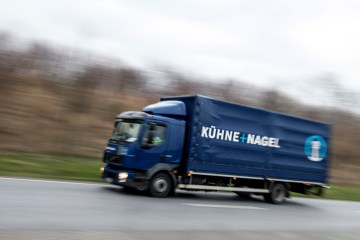 Kuehne & Nagel doubles core profit, expects no change in market situation