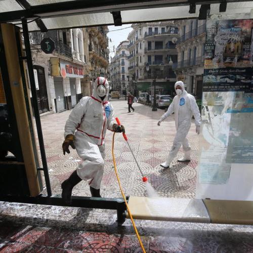 Algeria reimposes restrictions on gatherings to stem coronavirus cases