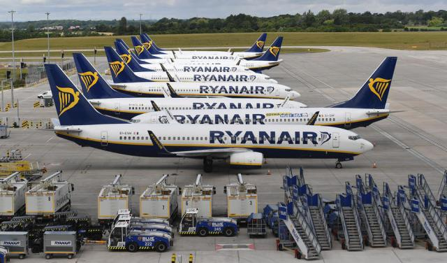 Ryanair sees 60-70% of normal traffic this summer