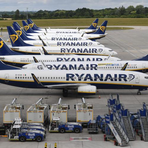 UPDATED: Ryanair sees 60-70% of normal traffic this summer